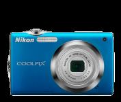 Nikon Coolpix S3000 modrá